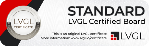 Standard LVGL certificate for YeaCreate Nscreen32