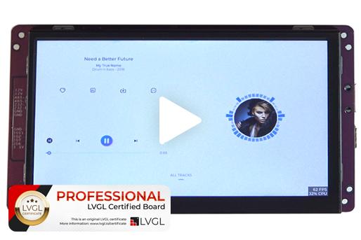 Wireless-Tag IDO-SMLCD72-V1-2EC display board